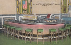 BUFFALO , New York , 1930-40s ;Martin's Restaurant Cocktail Lounge, NY Centra...
