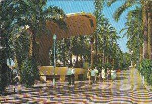 Spain Alicante Explanada de Espana