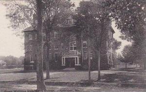 Maine Lewiston Roger Williams Hall Bates College Albertype