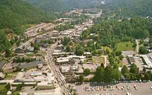 TN - Gatlinburg. Aerial View