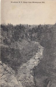 WESTFIELD, New York, 1900-10s; Gorge from Wintergreen Hill
