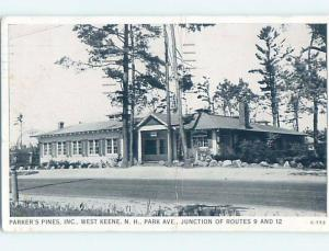 1940's BUILDING West Keene New Hampshire NH ho0601