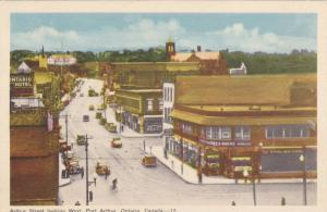 Arthur Street Looking West, Ontario Hotel, Cartney & Burke Jewelers, Port Art...