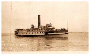 Vermont  lake Champlain  Steamer Vermont , RPC