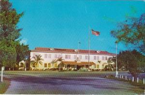 Cuba Guantanamo Bay Administration Building U S Naval Base 1958