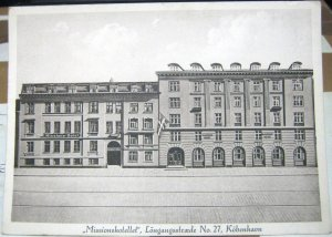Denmark Kobenhavn Missionshotellet Longangsstraede 27 - unposted
