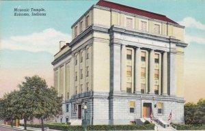 Indiana Kokomo Masonic Temple 1945 Curteich sk1380