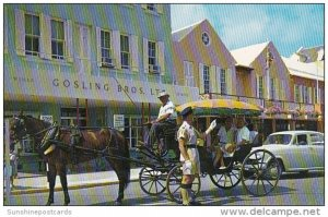 Bermuda Hamilton Policeman On Front Street