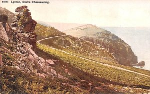 Devils Cheeswring Lynton United Kingdom, Great Britain, England Unused