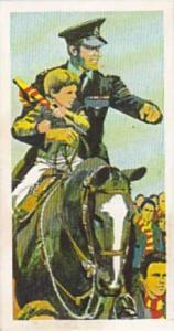 Brook Bond Tea Vintage Trade Card Police File 1977 No 32 Higher Authority