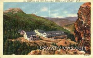 Mt Mansfield & Hotel