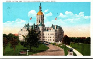 Connecticut Hartford State Capitol and Petersburg Express