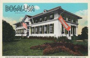 BOGALUSA , Louisiana , 1900-10s ; Admin bldg , Great Southern Lumber Company