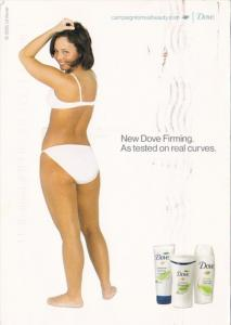 Advertising Dove Body Wash Lotion and Cream 2007