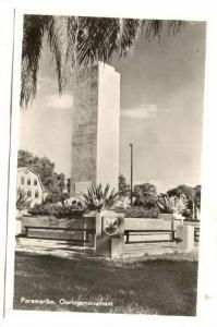 RP, Oorlogsmonument, Paramaribo, Suriname, 1920-1940s