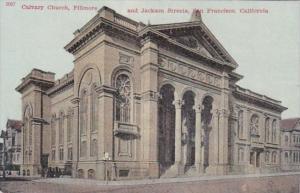 California San Francisco Calvary Church Fillmore and Jackson Streets