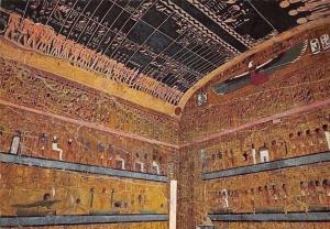 Egypt Kuxor King's Valley Tomb of King Sety I, Vallee des Rols
