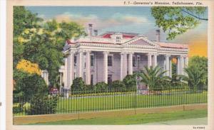 Florida Tallahassee Governor's Mansion Curteich