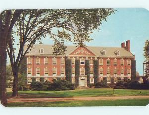 Unused Pre-1980 EVANS HALL AT UNIVERSITY OF DELAWARE Newark Delaware DE L6986