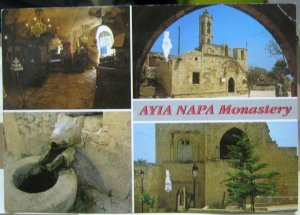 Cyprus Ayia Napa Monastery multi-view - posted 1995