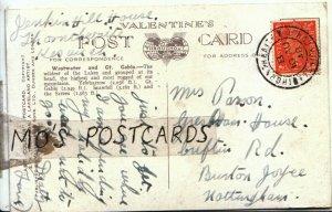 Genealogy Postcard - Parsons - Criftin Rd - Burton Joyce - Nottingham  Ref 9573A