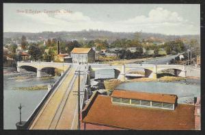 New Y Bridge Zanesville Ohio Unused c1909