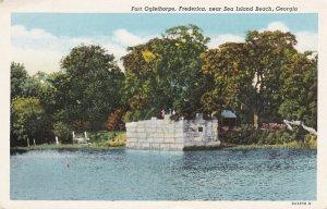 SEA ISLAND BEACH, Georgia, 1900-10s; Fort Oglethorpe, Fredrica