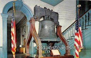 Liberty Bell Philadelphia, PA Patriotic Postal Used Unknown