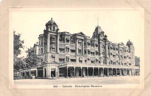 Calcutta India Chouringhee Mansions Calcutta Chouringhee Mansions