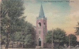 ADA, Ohio;  00-10s; First Presbyterian Church