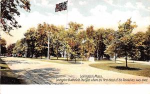 Lexington Battle Ground Massachusetts
