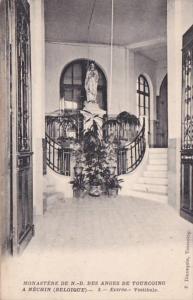 Belgium Nechin Monastere De Notre Dame des Anges de Tourcoing Entree Vestibule