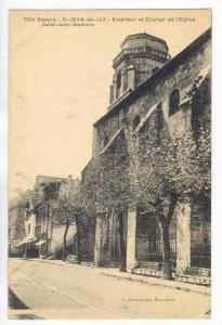 Exterieur et Clocher de l´Eglise, Saint Jean Baptiste, St. Jean de Luz, Fran...