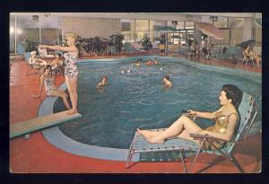 Chicago, Illinois/IL Postcard, The Spa Motel On North Lincoln Avenue