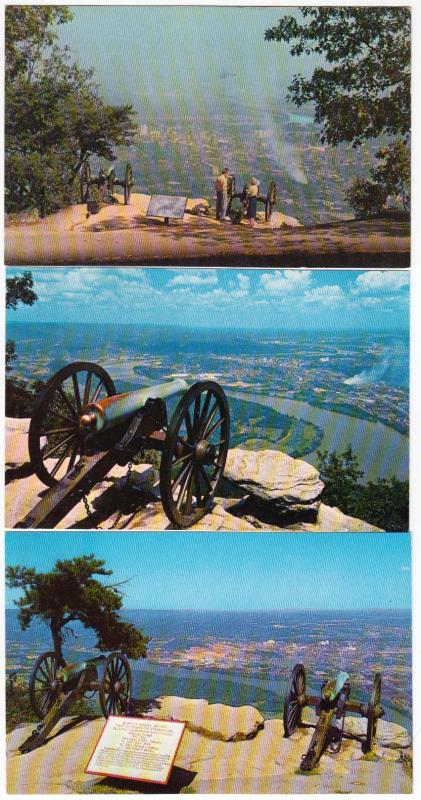 Cannons, Confederate Battery, Lookout Mt, Chattanooga TN