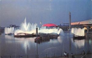 US Fountain of the Planets At the World's Fair, N.Y.C.