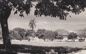 RP: HAITI , 00-10s : Field w/ Monument