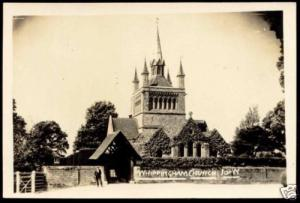 i.o.w., WHIPPINGHAM, Saint Mildred's Church (1930) RPPC