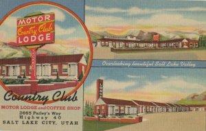 SALT LAKE CITY, Utah, PU-1953; Country Club Motor Lodge