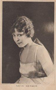 Neva Gerber , 1910s - 1920s ; Actress