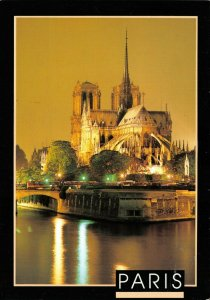 Postcard, Notre Dame Cathedral, Paris, France 23Z