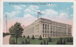 Washington D C The New Bureau Of Printing and Engraving