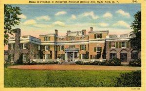 NY - Hyde Park. Franklin Roosevelt Home