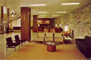 LOBBY, PRITCHELL HALL, RIDGECREST BAPTIST CONFERENCE CENTER, NO. CAROLINA 1982