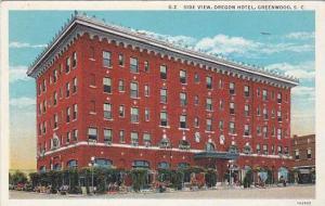 Side View, Oregon Hotel, Greenwood, South Carolina, PU-1936