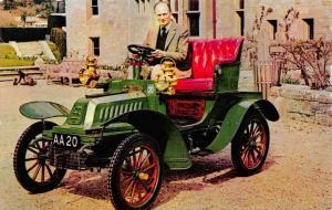 Postcard, Vintage Car 1903 Di Dion Bouton, Montagu Motor Museum, Beaulieu 72S
