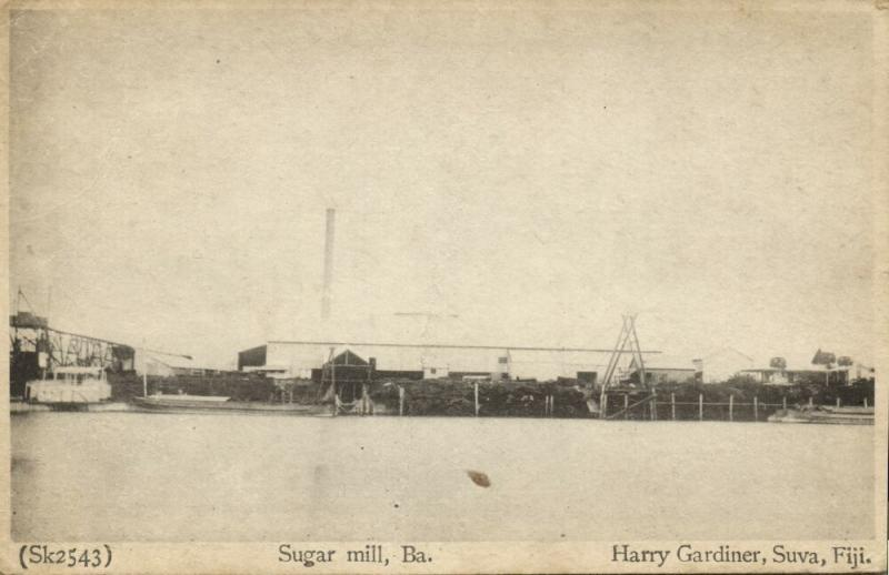 fiji islands, BA, Sugar Mill (1910s) Harry Gardiner
