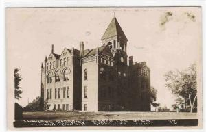 Luther Academy Albert Lea Minnesota 1910c RPPC Real Photo postcard