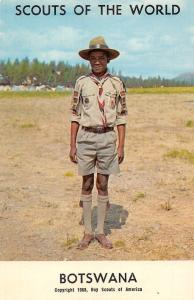 Boys Scouts of the World: Botswana (1968 Boy Scouts of America)