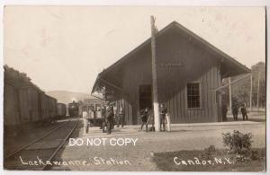 RPPC, Lackawanna Station, Candor NY